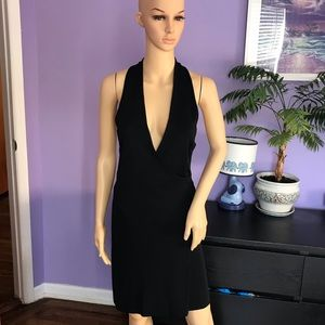 Herve Leger Paris black Bodycon dress size M